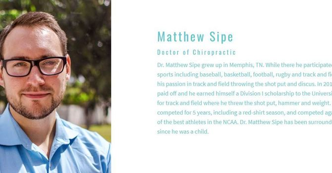 Start Up Story (Sipe Chiropractic & Rehab)